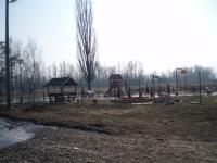 rozmočené detské ihrisko